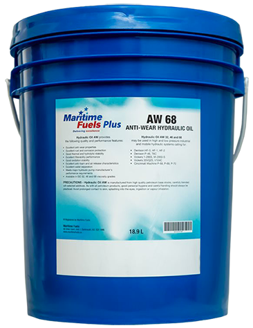 Maritime Fuels Plus AW-68 Anti-Wear Hydraulic Oil
