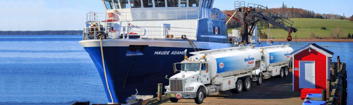 Maritime Fuels making marine deliveries to ship Maude Adams