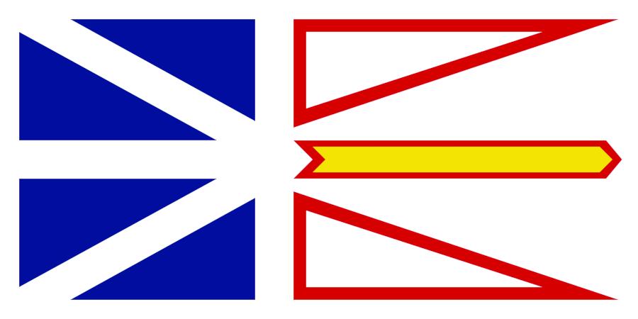 Flag Newfoundland