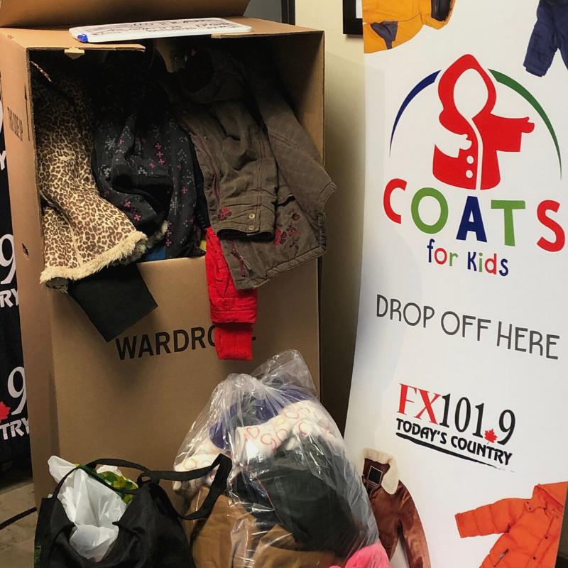 Coats for Kids Drop off location at Maritime Fuels