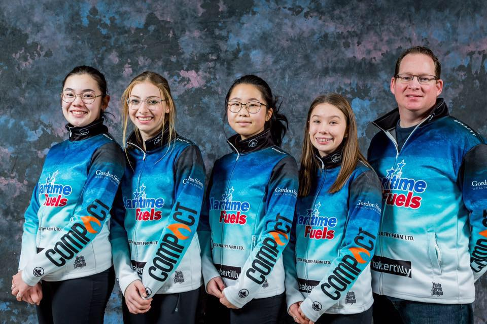 Team Spicer Curling sponsored by Maritime Fuels